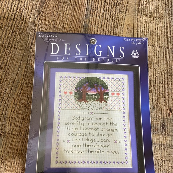 New Designs for the Needle Cross Stitch Kit